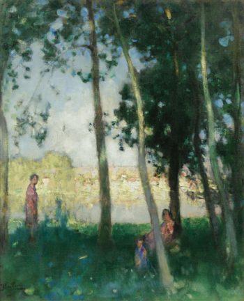 Women near the Water | Pierre Eugene Montezin | oil painting
