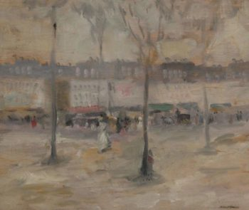 A View of Paris | Robert Henry | oil painting