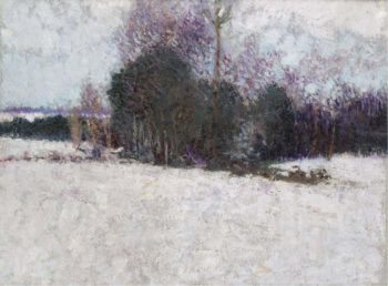 Snowy Landscape | Roderic O`Connor | oil painting