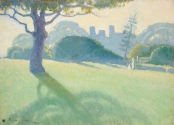 Across the Domain 1918 | Roy De Maistre | oil painting