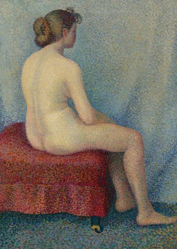 Young Woman Seated | Yvonne Serruys | oil painting