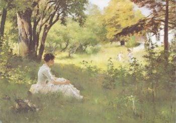 Summer | Albert Edelfelt | oil painting