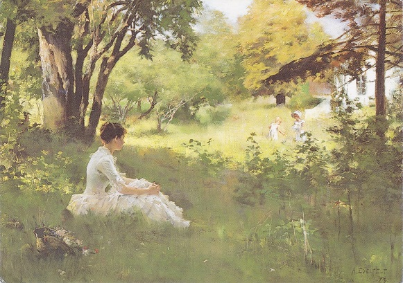 Summer | Albert Edelfelt | oil painting