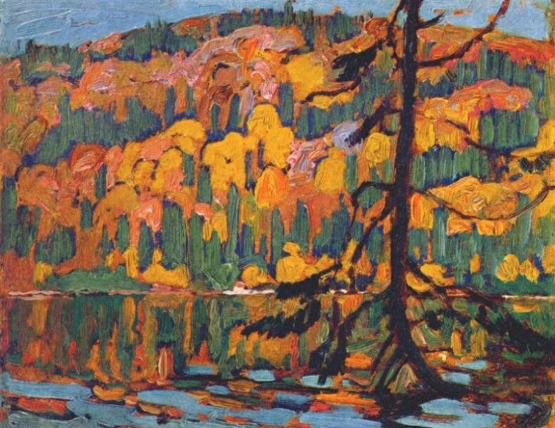 Autumn Algoma   J. E. H. MacDonald   oil painting