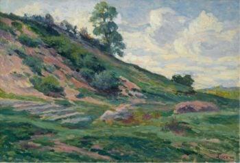 The Outskirts of Moulineuz near Etampes 1905 | Maximilien Luce | oil painting