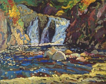 The Little Falls Sketch | J. E. H. MacDonald | oil painting