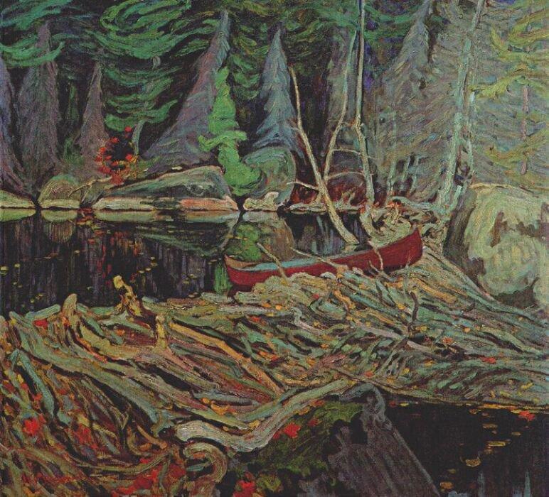 The Beaver Dam | J. E. H. MacDonald | oil painting