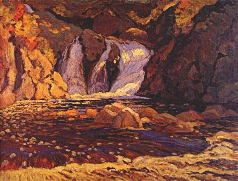 The Little Falls | J. E. H. MacDonald | oil painting