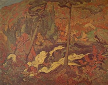 The Wild River | J. E. H. MacDonald | oil painting