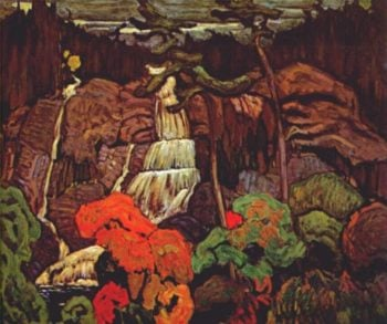 Algoma Waterfall | J. E. H. MacDonald | oil painting