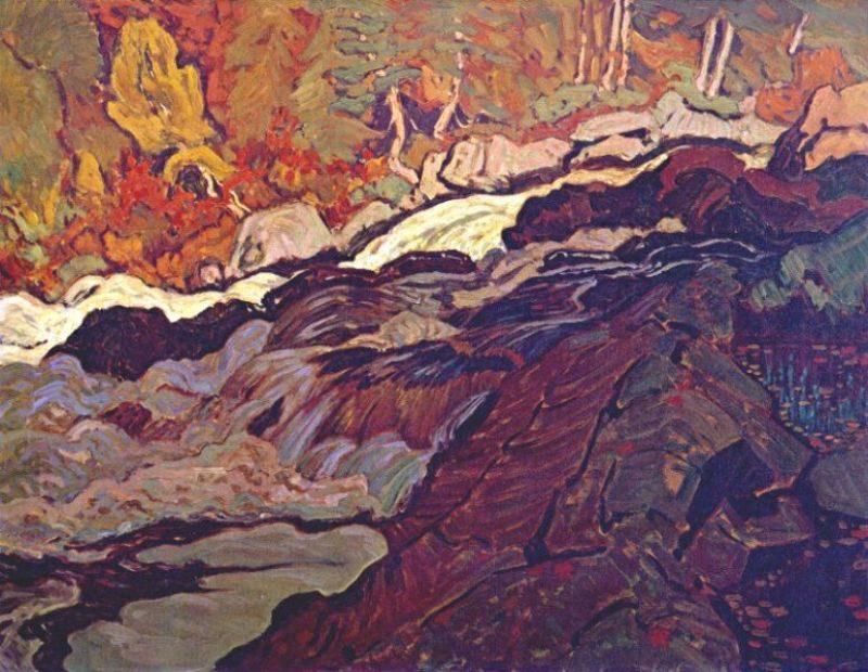 Batchawana Rapid | J. E. H. MacDonald | oil painting
