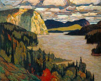 The Solemn Land | J. E. H. MacDonald | oil painting