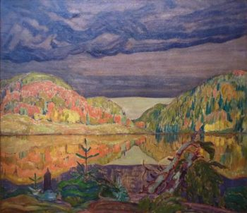 October Shower Gleam | J. E. H. MacDonald | oil painting