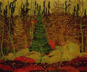 Young Canada | J. E. H. MacDonald | oil painting