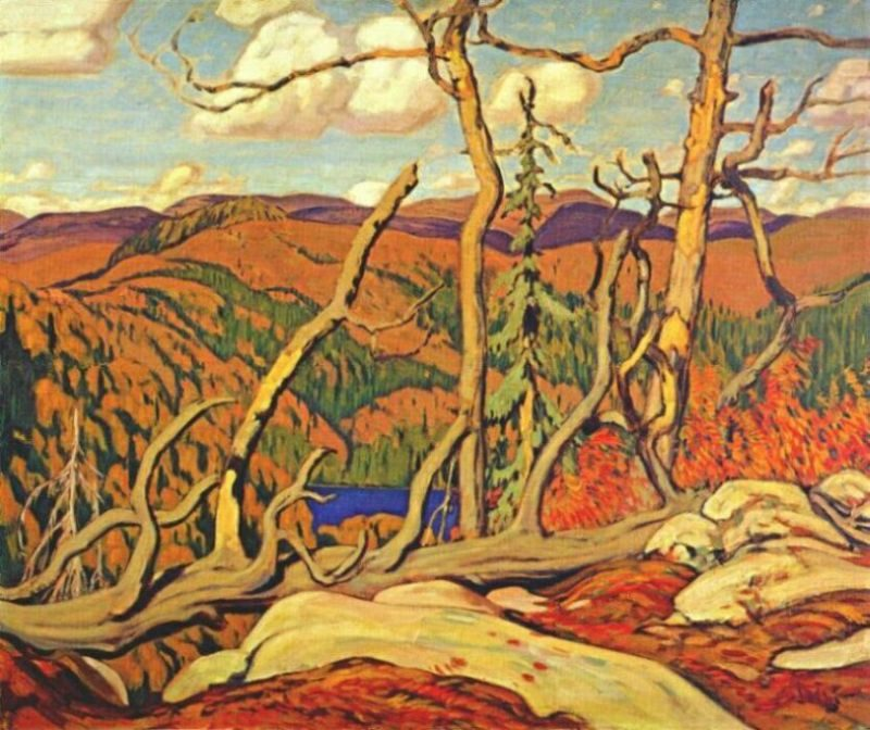 Northland Hilltop | J. E. H. MacDonald | oil painting
