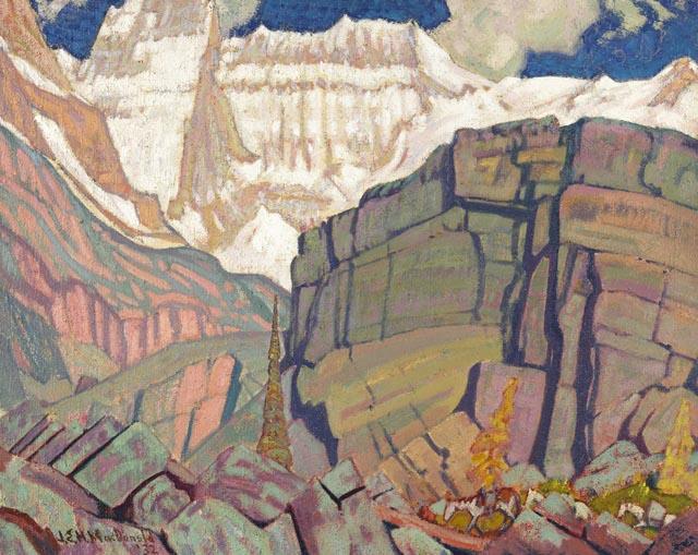 Mount Lefroy | J. E. H. MacDonald | oil painting