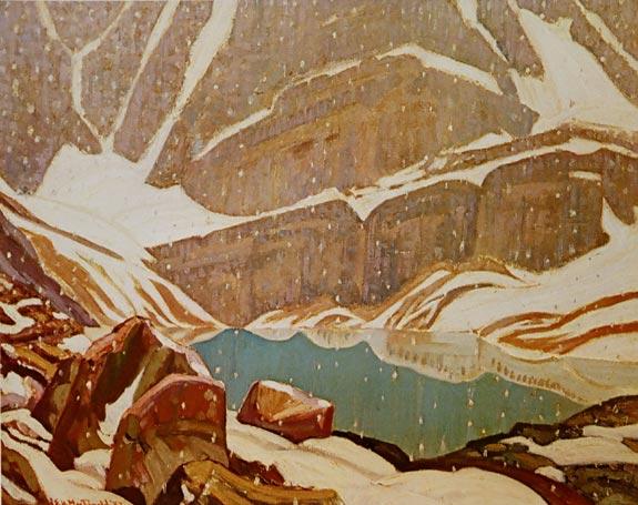 Mountain Snowfall