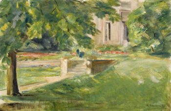 House and Terrace to the Southwest 1923 | Max Liebermann | oil painting