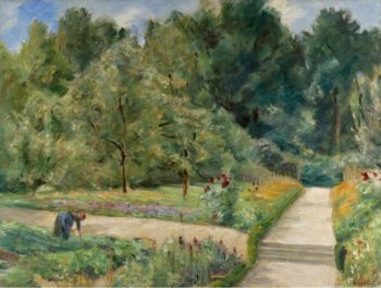 The Garden in Wannsee to the West 1921 | Max Liebermann | oil painting
