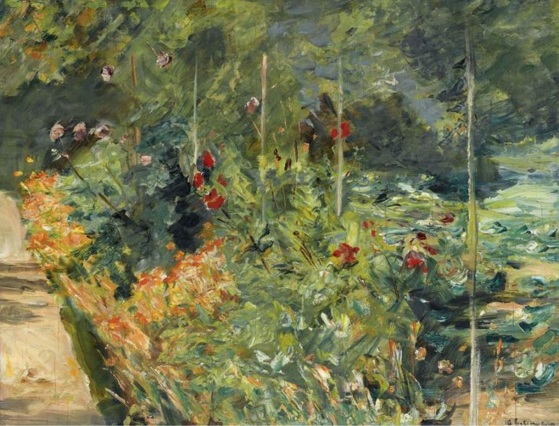 The Garden to the West of Wannsee 1920 | Max Liebermann | oil painting
