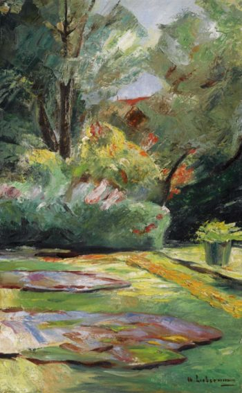 Wannsee Garden Flower Terrace to the Northeast 1925 | Max Liebermann | oil painting