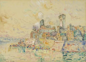 Antibes 1910 | Paul Signac | oil painting
