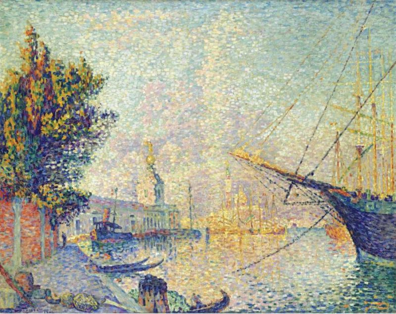 La Dogana (Venise) 1904 | Paul Signac | oil painting