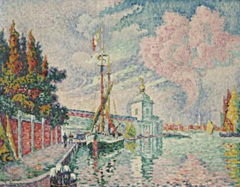 La Dogana Venice 1923 | Paul Signac | oil painting