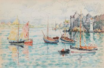 Le Conquet 1931 | Paul Signac | oil painting