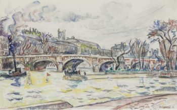 Le Pont Neuf Paris 1930 | Paul Signac | oil painting