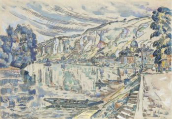 Les Andelys 1923 02 | Paul Signac | oil painting