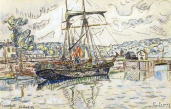 Paimpol 1927 | Paul Signac | oil painting