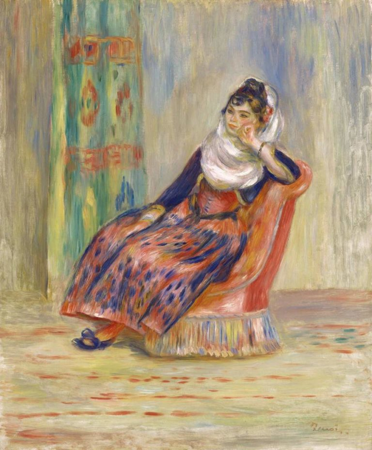 Algerian Woman 1881 | Pierre Auguste Renoir | oil painting