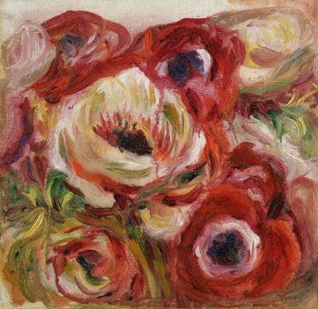 Anemones 01 | Pierre Auguste Renoir | oil painting