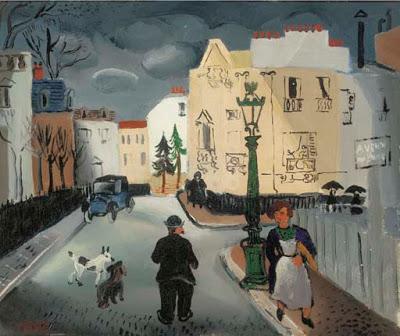 Street in Paris | Christopher Wood | oil painting