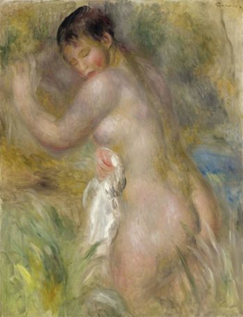 Bather 1885 90 | Pierre Auguste Renoir | oil painting