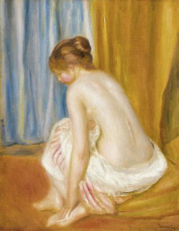 Bather 1893 | Pierre Auguste Renoir | oil painting