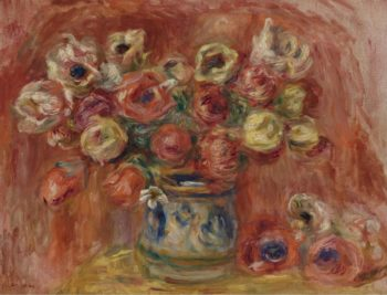 Bouquet of Flowers | Pierre Auguste Renoir | oil painting
