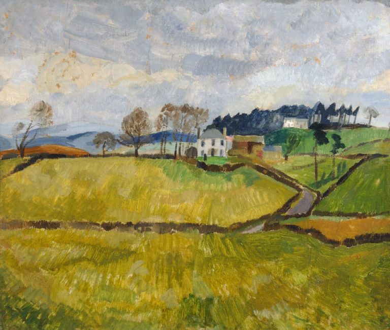 Cumberland Landscape (Northrigg Hill) | Christopher Wood | oil painting