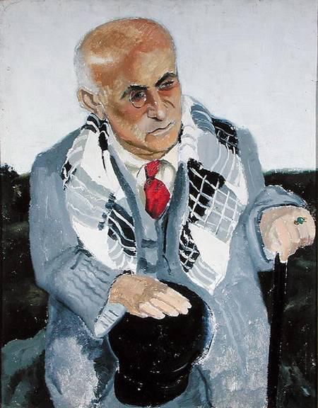 Portrait de Max Jacob | Christopher Wood | oil painting