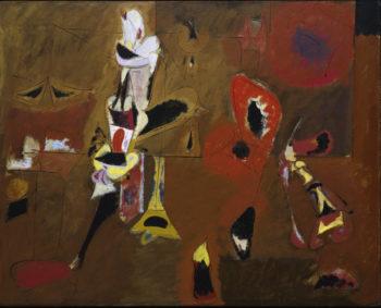 Agony | Arshile Gorky | oil painting