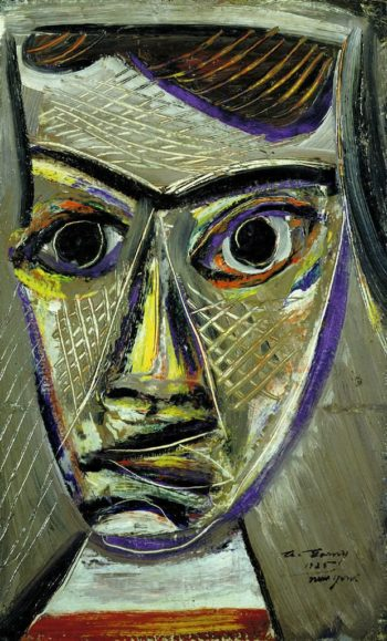 Man's Head | Arshile Gorky | oil painting