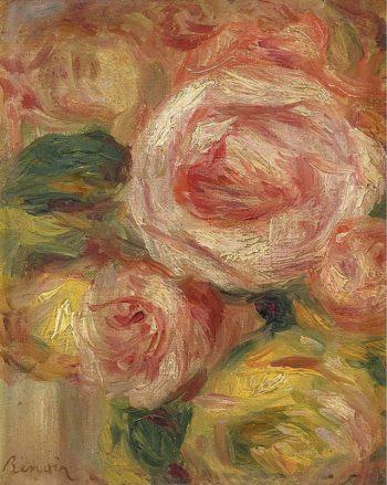 Roses | Pierre Auguste Renoir | oil painting