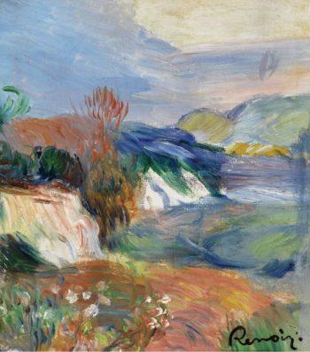 Seaside | Pierre Auguste Renoir | oil painting