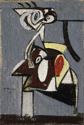 Child of an Idumean Night (Composition No. 4) | Arshile Gorky | oil painting