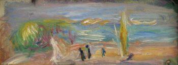 Seaside Landscape | Pierre Auguste Renoir | oil painting