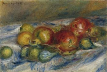 Still Life with Figs and Granates 1915 | Pierre Auguste Renoir | oil painting