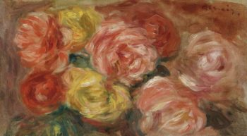 Stll Life with Roses 1918 | Pierre Auguste Renoir | oil painting