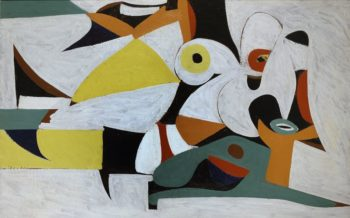 Composition | Arshile Gorky | oil painting