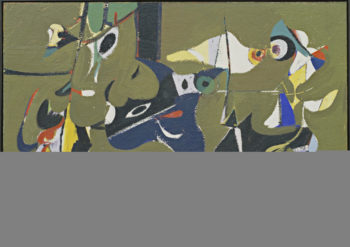 Garden in Sochi | Arshile Gorky | oil painting
